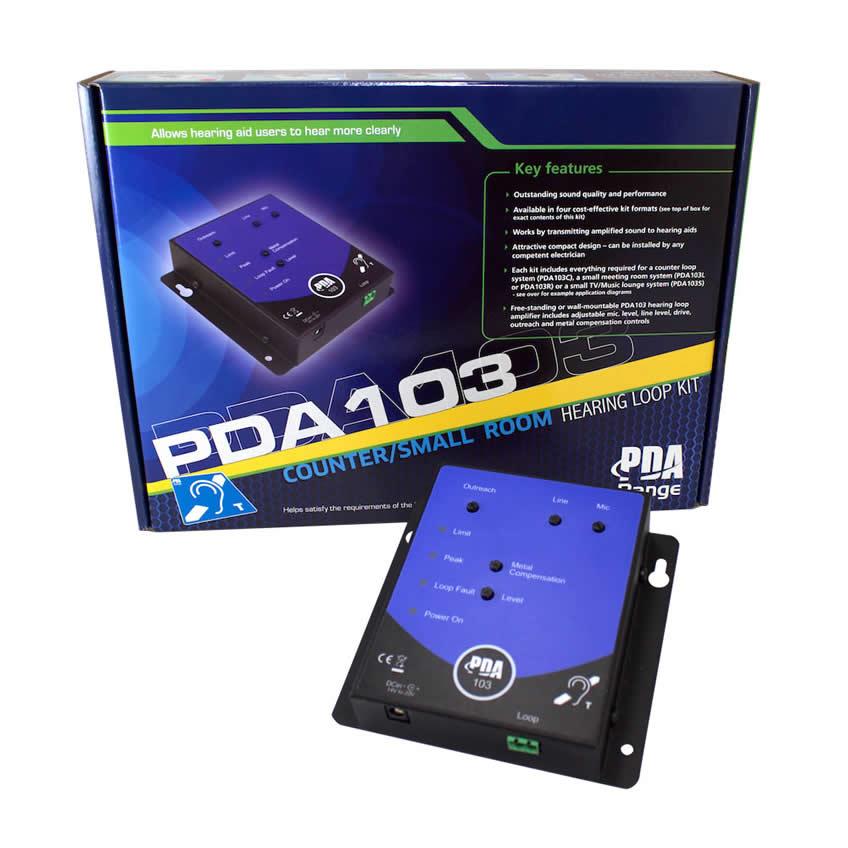 SigNET's new PDA103 hearing loop kits!